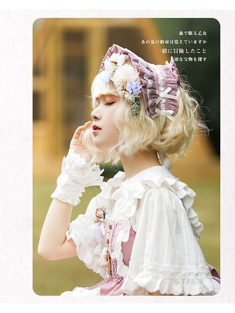 Sleeping Flower Girl Accessories by Nya Nya Lolita