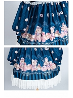 Nurse Bear Twins Lolita Dress OP by OCELOT