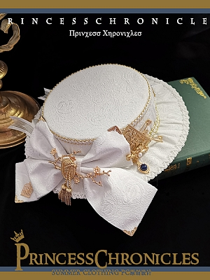 Little Prince Lolita Flat Hat by Princess Chronicles