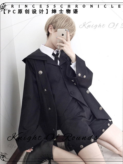 Stories of Gentlemen Fake Two-piece Ouji Male Coat by Princess Chronicles