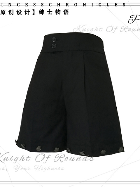 Stories of Gentlemen Ouji Suit Shorts by Princess Chronicles