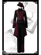 Red and Black II Series Ouji Lolita Pants by Princess Chronicles