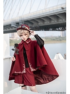 Prison Poem The Little Prince Ouji Lolita Woolen Cape by Princess Chronicles
