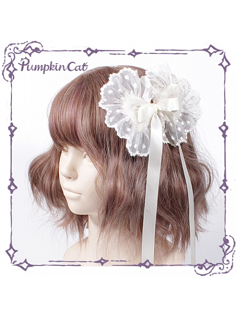 Sweet Toothache Hairclip by Pumpkin Cat
