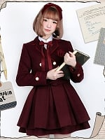 Premuim Student Suit Skirt by Pumpkin Cat