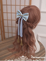 Pre-order Ode Of Whales Chinese Style Bowknot Hairclip by Precious Clove