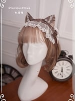 Pre-order by House Cat Ear KC Shape by Precious Clove