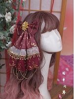 Pre-order Qiuniu Facing the Zither Hairclip by Precious Clove