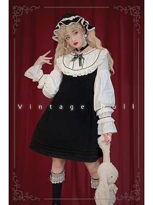 Antique Doll OP and Hat by PreReality