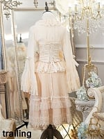 Antique Dress Trailing by Pretty Galaxy