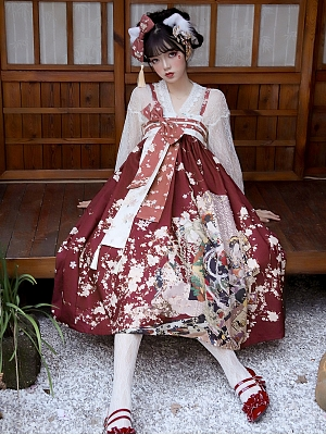 Miyano Wa Lolita Dress JSK / Skirt SK by PRIVATEPLUS