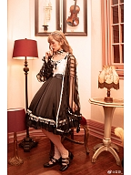 Golden Age Lolita Dress JSK by psmfm