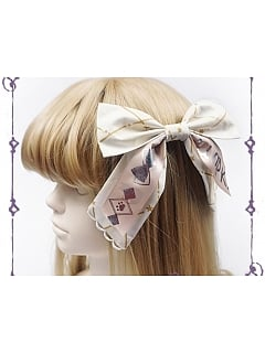 Double-Layer Bow Decorative Hair Clip by Pumpkin Cat