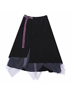 Asymmetrical Tulle Skirt by Quirky Hut