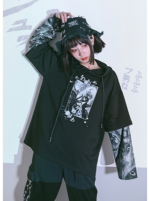 Quirky Hut and Junji Ito Collaboration Tomie Hoodie by Quirky Hut