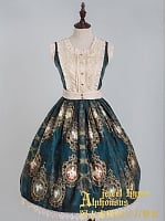 ON SALE-Royal Two-Tone Bodice JSK-Ode to Diamond by Quaint Lass