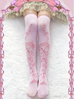 Alice Afternoon Tea Over knee Stockings by Reina