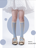 Nutcracker Lolita Cotton Underknee Stockings by ROJI ROJI