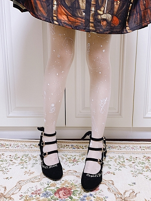 Angel and Constellation Pantyhose by Ruby Rabbit
