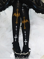 Angels and Cross Tights by Rubby Rabbit