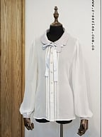 Flowing Sweet Collar Little Bee Blouse By Rseries