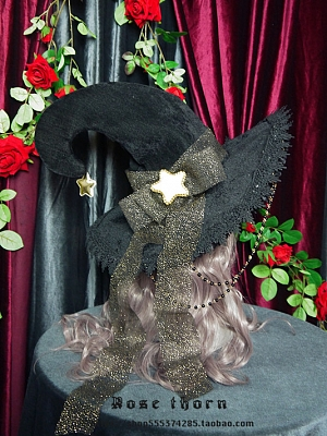 Kirisame Marisa Witch Hat by Rose Thorn