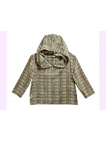 Custom Size Available Panne Chocolate Plaid Hoodies by Sansa Store