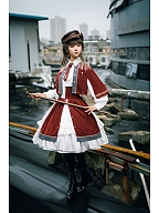Girl Commander Series Military Style Cape by SEVEN BABY Lolita