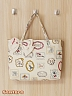 Alice Theme Picture Frame Printed Tote Bag by Sentaro