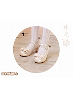 Juice Bowknot Mid And Low Heels by Sentaro