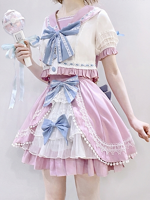 Raising Star Colorful Team Suit Skirt by Star Fantasy