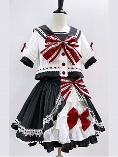 Raising Star Lolita Dress Colorful Team Suit Top by Star Fantasy