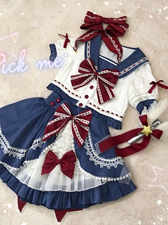 Raising Star Lolita Dress Colorful Team Suit JK by Star Fantasy