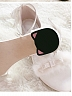 Pre-order The Small Cat Pink White and Blue Low-heels Sandals by Sheep Puff