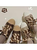 Cookie Canvas Lolita Shoes by Sheep Puff