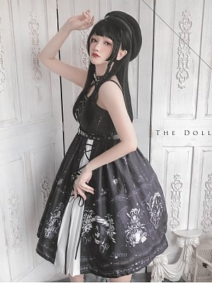The Doll Theater Gothic Lolita Dress JSK by Semi Lolita