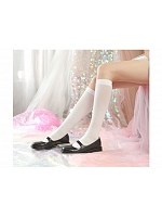 Classic Thin Velvet JK Student Uniform Stockings