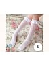 Girl Lace Trims Heart Patterns Stockings