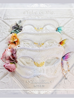 Silmarillion Handmade Exquisite Flower Lace Mask by sTyLe or Die