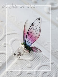 Silmarillion Handmade Exquisite Butterfly 3-D Wings Ring by sTyLe or Die