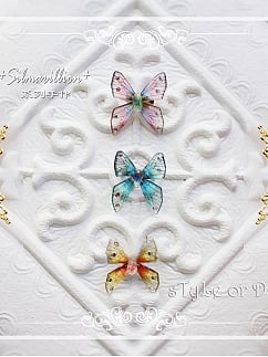Silmarillion Handmade Exquisite Butterfly Brooch by sTyLe or Die
