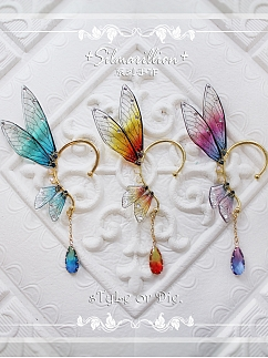 Silmarillion Handmade Exquisite Wings Earring I by sTyLe or Die