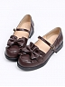 Top Student Bowknot Shoes