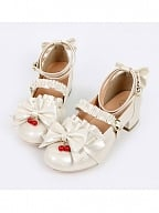 Jam Girl Love Bowknot Lace Girlish Shoes