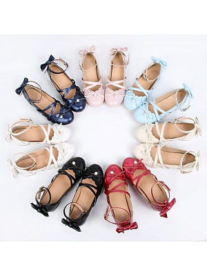 Falling Love with Butterfly Middle-heels Shoes