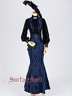Knicks Victorian Style Fake Collar by Surface Spell