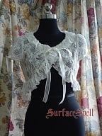 Custom Exquisite Lace Short Cape by Surface Spell