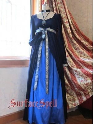 Custom Middle Age Style Gown by Surface Spell