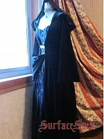 Custom Velvet Long Robe by Surface Spell