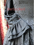 Custom Size Available Half Bishop Sleeve Brocade OP by Surface Spell